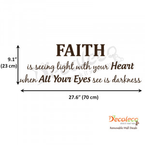 Home » Products » Faith Wall Quote