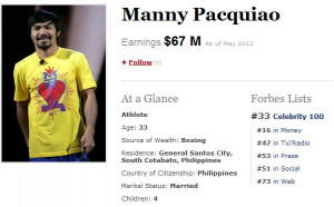 Funny Manny Pacquiao Quotes