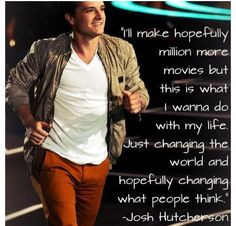 ... changed my world more ryan hutcherson josh hutcherson quotes josh