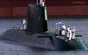 quotes IDF official saying the 3 German-made long range submarines ...