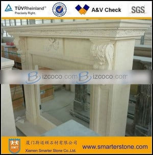 Beige Marble Fireplace Surround Price USD 1 00 Min Order 1 Set