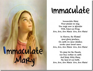Read Immaculate Mary in your free Catholic ABCs book