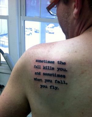 Neil Gaiman Tattoo