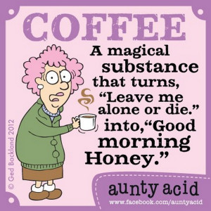 15 more cartoons from Aunty Acid. Aunty's daily postings can be found ...