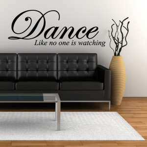 quotes – tweet dance wall quote sticker wall stickers from abode ...