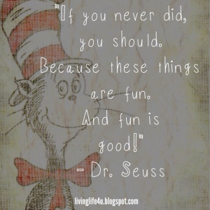 Dr. Seuss Quotes - Day 10