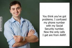 Social Security Number Joke