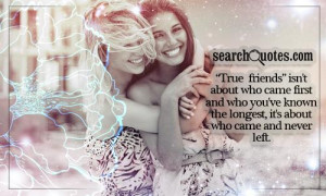 Cute Friendship Quotes about Longtime Friend