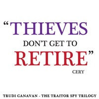 Bookmark design for Trudi Canavan's Traitor Spy Trilogy