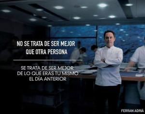 Ferran Adrià, socio de trip4real. Quotes4real.