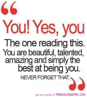 You Are an Amazing Person Quote