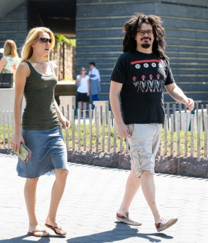 Adam Duritz And Female Friend Head To The Ferry