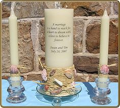 wedding candle sayings wedding candles keywords # weddings ...