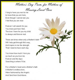 Wonderful Mothers Day Poems from Adopted Sons and Adopted Daughters ...