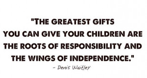 Children Responsibility Quote to Share
