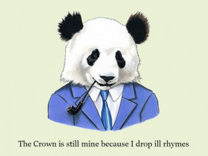 ... dressed animals with rap quotes. Have a look them all and be cool