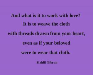 Quotes-Gibran