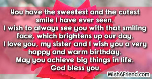 sister birthday quotes and sayings