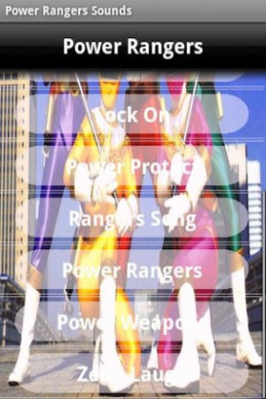 Power Rangers Sound Quotes Screenshot 3