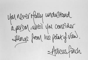 To Kill a Mockingbird Atticus Quotes