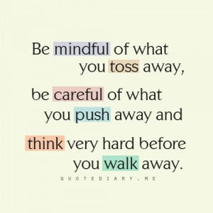 think before you act. | Quotes