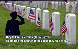... quotes memorial day picture of leader in american flag with quote
