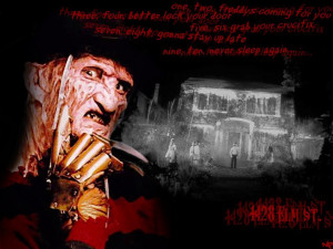 Freddy Krueger favorite Freddy quote?