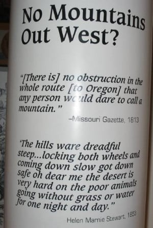 Quotes On Oregon Trail