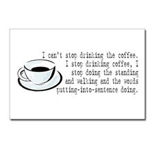 coffee:long quote Postcards (Package of 8) for