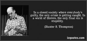 hunter s thompson quotes quote quotations hunters thompson
