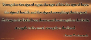 Motivational Thoughts-Quotes-Swami Vivekananda-Strength-Hope-Health
