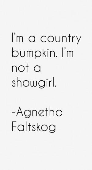 country bumpkin I 39 m not a showgirl