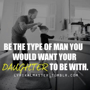 Daughters are likely to date guys that remind them of their fathers