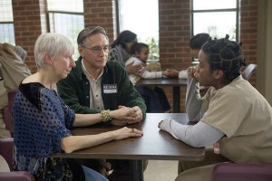 Crazy Eyes' incredibly WASPY parents are telling her about all the ...
