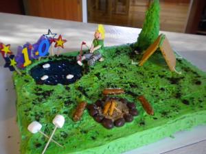 Elk Hunting Retirement Cake