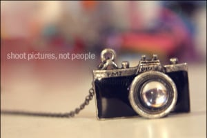 camera, necklace, quote, typography - inspiring picture on Favim.com