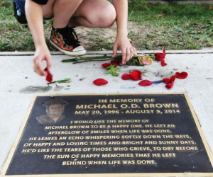 year after Michael Brown's death, some progress in racial relations 1 ...