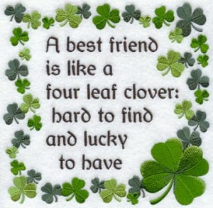 Those who are blessed with great friends will agree with this four ...