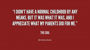 Tre Cool Quotes