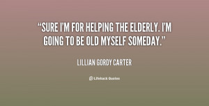 Elderly Quotes