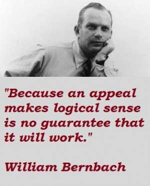 William bernbach famous quotes 5
