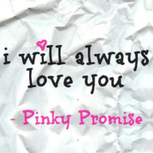 ALWAYS - pinky promise