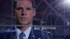Ben Browder Smoking