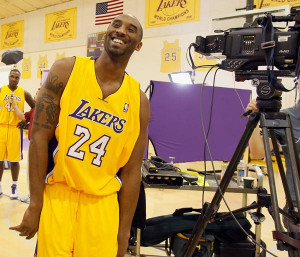 ... Lakers—Bryant is just enjoying the ride and staying in the moment