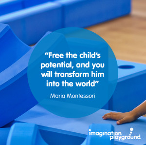 Free the child's potential and you will transform him into the world ...