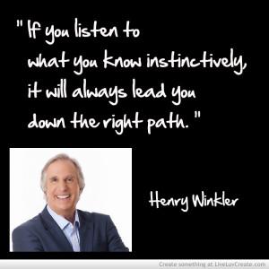 Adironnda Henry Winkler 1 Instinct
