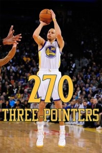 Steph Curry breaks Ray Allen's NBA record for most three-pointers a ...