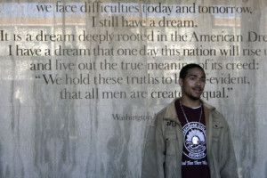 "quote from Martin Luther King Jr.'s ""I Have a Dream"" speech at ..."