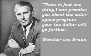 Wernher von braun famous quotes 2