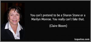 More Claire Bloom Quotes